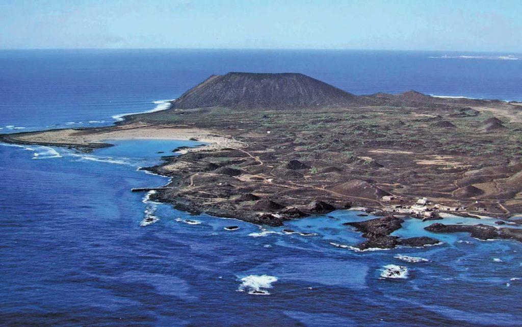 Isla De Lobos Mapa.Isla De Lobos Parque Natural Islote De Lobos Naviera