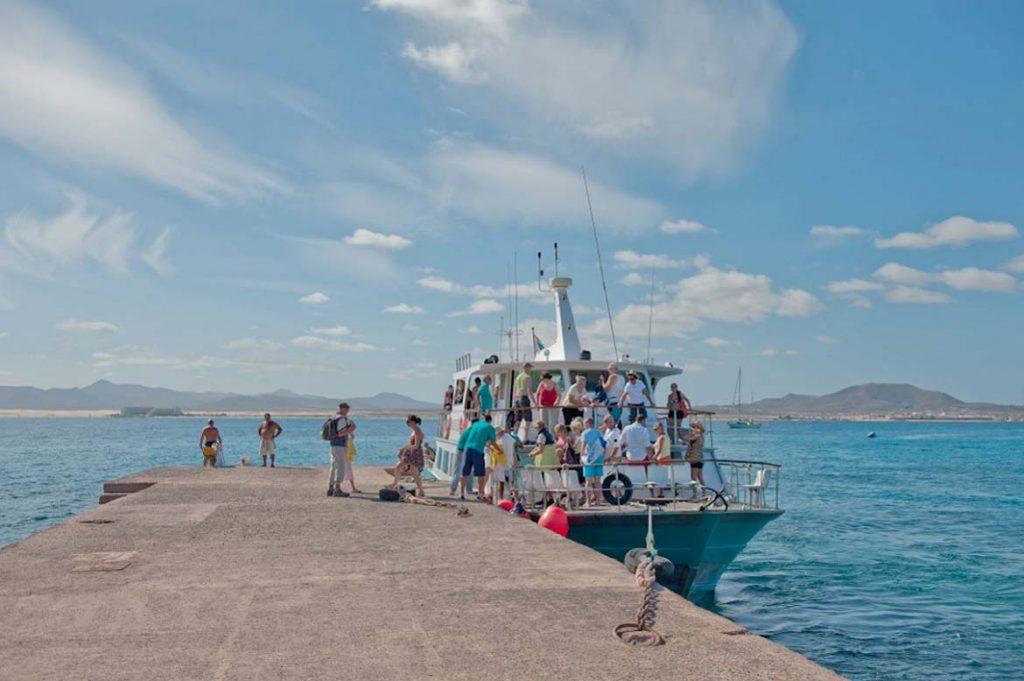 landung auf der isla de lobos