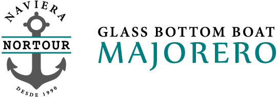 Naviera Nortour Logo; Barco Majorero Logo